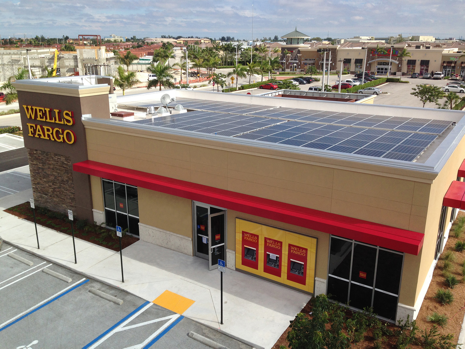 Wells Fargo Global Operations Now Powered by 100 Percent Renewable