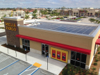 Wells Fargo's Hialeah Gardens, Florida branch generates much of its own electricity requirements with solar panels (Photo: Business Wire)