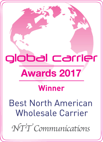 Best North American Wholesale Carrier (Graphic: Business Wire)