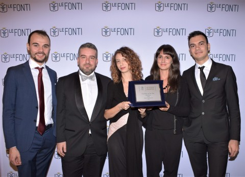 Amicucci Formazione awarded in London at Le Fonti Awards 2017 (Photo: Nick Zonna)