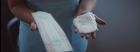Pampers introduces the first-of-its-kind NICU Flat Diaper for babies whose skin is too sensitive to wear a traditional diaper. (Photo: Business Wire)