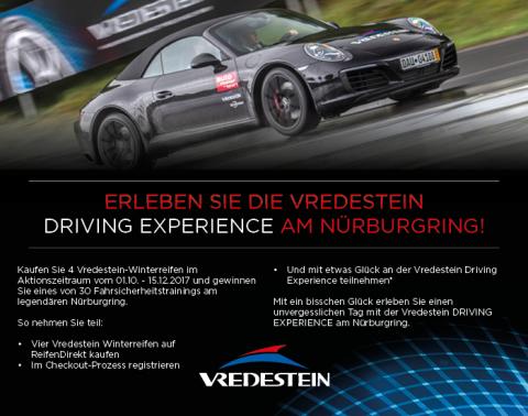 Mitmachen und eins von 30 Fahrsicherheitstrainings am Nürburgring gewinnen (Foto: Business Wire)