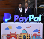 Rohan Mahadevan (left), CEO PayPal Private Limited & SVP, General Manager, APAC at PayPal and Anupam Pahuja (right), Country Manager and Managing Director, PayPal India at the launch of PayPal's domestic operations in India. (Photo: Business Wire)