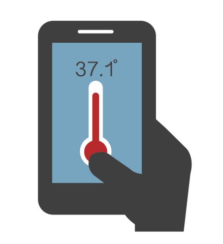 LMD Highlights New Temperature Measurement Applications for V-Sensor-Enabled Smartphones (照片:美国商业资讯)