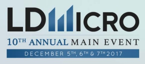 FISION to Present at the 10th Annual LD Micro Main Event on December 7, 2017 (Graphic: Business Wire ...