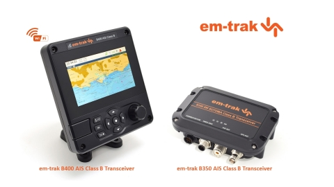 em-trak releases new SOTDMA products at METS (Photo: Business Wire)