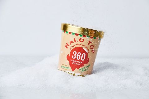 Halo Top Creamery Rings in the Holiday Season with a Brand-New Gingerbread House Flavor (Photo: Business Wire)