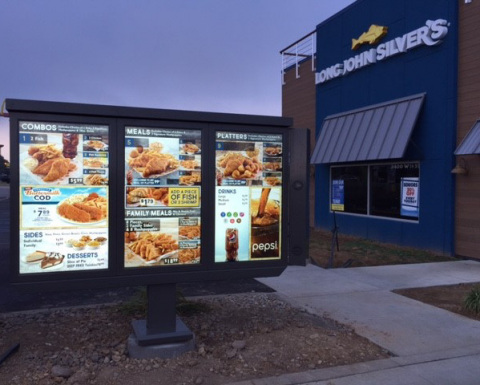 Long John Silver's New Digital Menu (Photo: Business Wire)