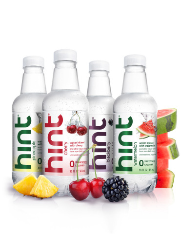 Multiyear Agreement Names hint® the Official Flavored Water across 12 AEG Music Venues in San Francisco, Los Angeles, New York and Boston. (Photo: Business Wire)