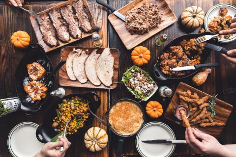 Salt & Bone Friendsgiving menu feast (Photo: Business Wire)