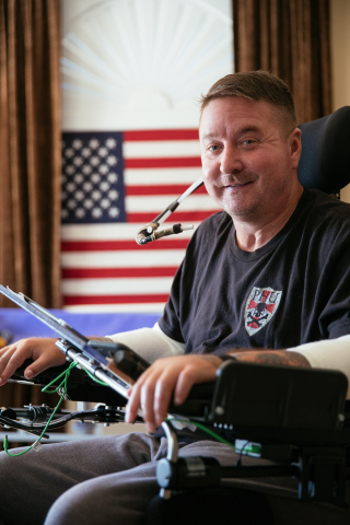 Jack Fanning is a disabled U.S. Air Force combat controller. (Photo: Business Wire)