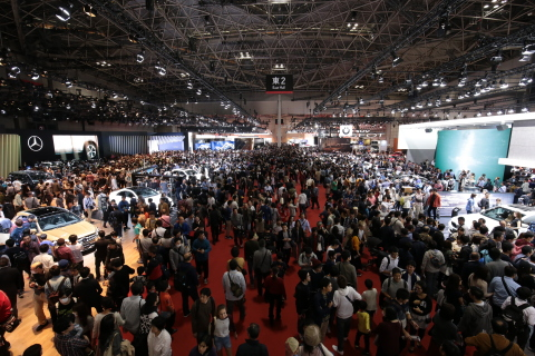 771,200 guests visited Tokyo Motor Show 2017 (Photo: Business Wire)