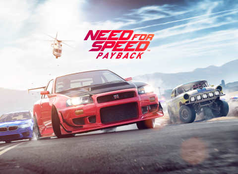 Experience Action-Packed Blockbuster Moments in Need for Speed Payback, Available Worldwide Today (Graphic: Business Wire)