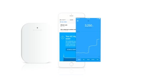 Whisker Labs ASSURE(SM) service, appliance home monitor performance and energy usage notification. (Photo: Business Wire)