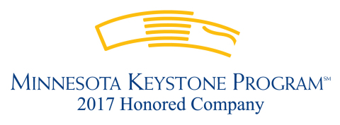 Dorsey & Whitney LLP has been named the 2017 winner of the Keystone Award in the large company category by the Minneapolis Regional Chamber of Commerce. (Graphic: Minneapolis Regional Chamber of Commerce)