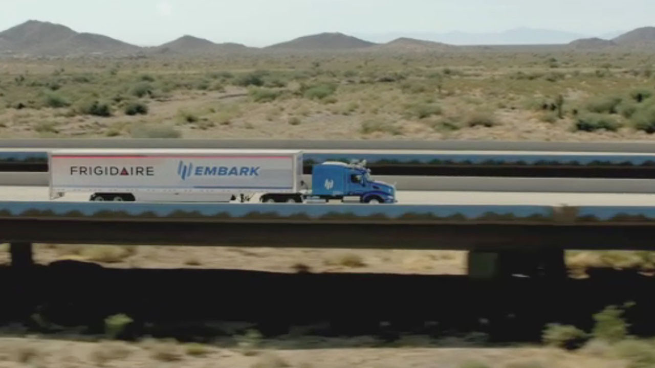Embark, Frigidaire®, and Ryder Partner to Pilot Automated Driving Technology