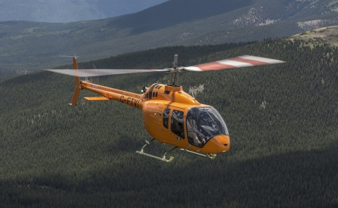 Bell Helicopter announced the certification of the Bell 505 Jet Ranger X by the European Aviation Safety Agency (EASA). (Photo: Business Wire)