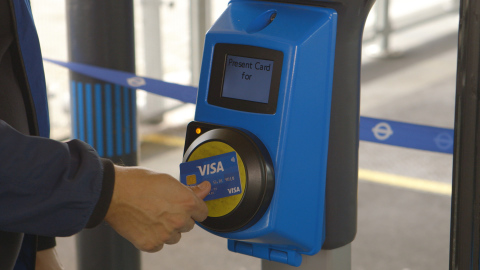 Visa sets out to transform mass transit experiences worldwide and reduce fumbling for cash and paper tickets  (Photo: Business Wire)