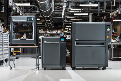 The Studio System is the only end-to-end solution for metal 3D printing. The printer, debinder and furnace were designed together, making it possible for precise control of the entire workflow. (Photo: Desktop Metal)