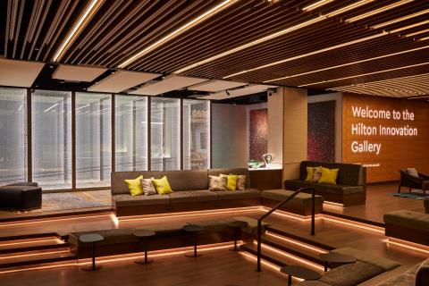 The Innovation Gallery is a first-of-its-kind incubator and experiential showcase for cutting-edge product developments that will shape the future of Hilton hospitality. (Photo: Business Wire)