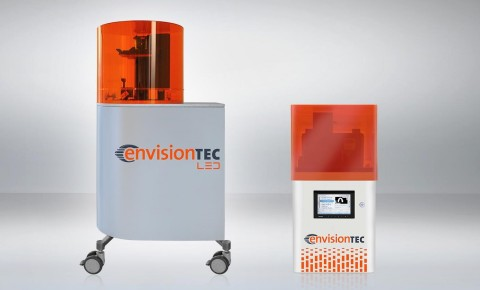EnvisionTEC, a leading manufacturer of desktop and production 3D printers, is launching two larger versions of its popular 3D printer models at formnext 2017, the Perfactory 4 LED XXL and the Vida cDLM. (Photo: Business Wire)
