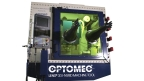The LENS 3D Hybrid Controlled Atmosphere System includes a hermetically sealed upper chamber and gas purification system to extend hybrid manufacturing capabilities for reactive materials such as aluminum and titanium. Photo courtesy of Optomec.