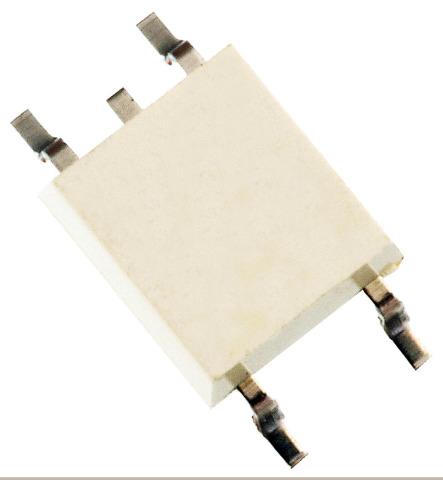 東芝デバイス&ストレージ(株): 小型2.54SOP4パッケージで阻止耐圧200V/オン電流0.4Aを実現したフォトリレー「TLP3145」(写真:ビジネスワイヤ)