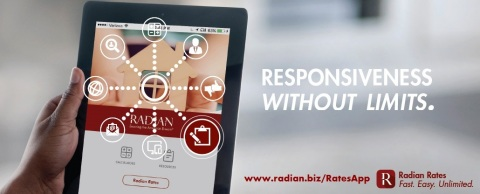 Radian's new and improved Radian Rates mobile app is now available on both Google Play and Apple App ...