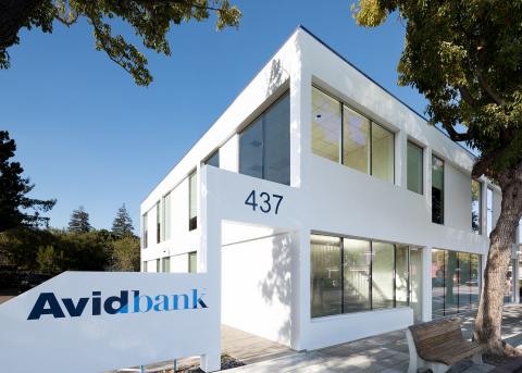 Avidbank's new Palo Alto Retail Branch (Photo: Business Wire)
