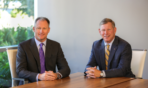 Dan Rogers, left, Blach's new President with Mike Blach, Chairman (Photo: Business Wire)