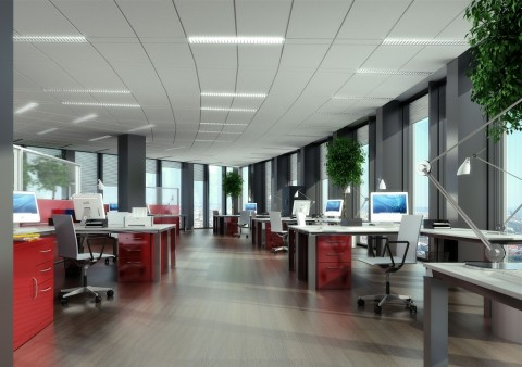 Empty desks, conference rooms impact worker productivity, Senion survey reveals. (Photo: Business Wi ...