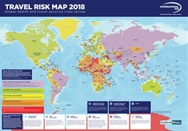 Travel Risk Map 2018 (Graphic: Business Wire)