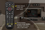 DISH's new voice remote features. (Photo: Business Wire)