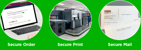 With NSC SecurePrint, colleges and universities can print without sacrificing the security of their students' information and the credibility of their transcripts. (Graphic: Business Wire)