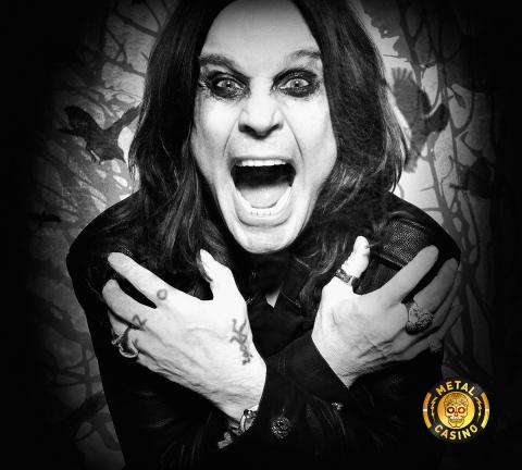 L'emblema del rock Ozzy Osbourne diventa ambasciatore del brand MetalCasino.com