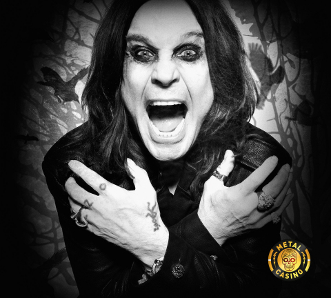 Rock God Ozzy Osbourne Joins MetalCasino.com as Brand Ambassador (Photo: Business Wire)
