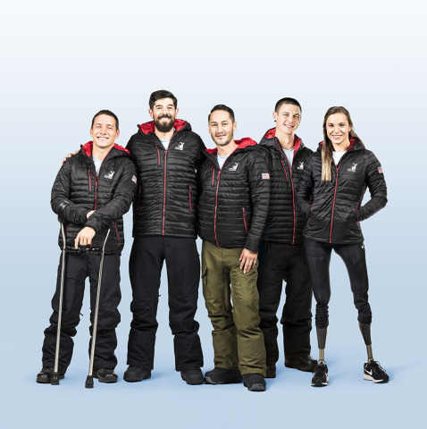 U.S. Paralympic athletes on Team Hartford are training for the Paralympic Winter Games PyeongChang 2018. (Photo: Business Wire)