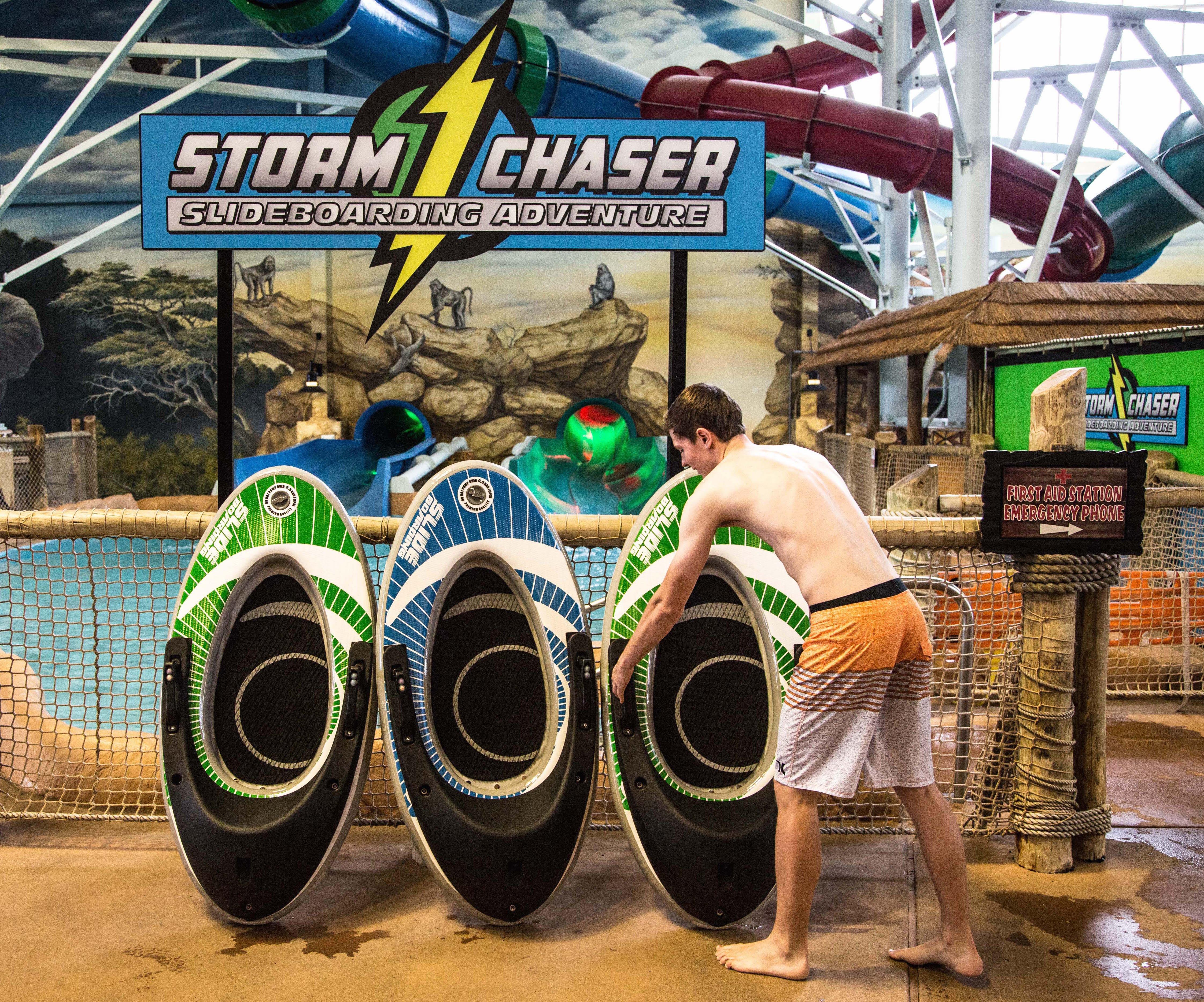 Chase The Storm Kalahari Resorts And Conventions Debuts Interactive