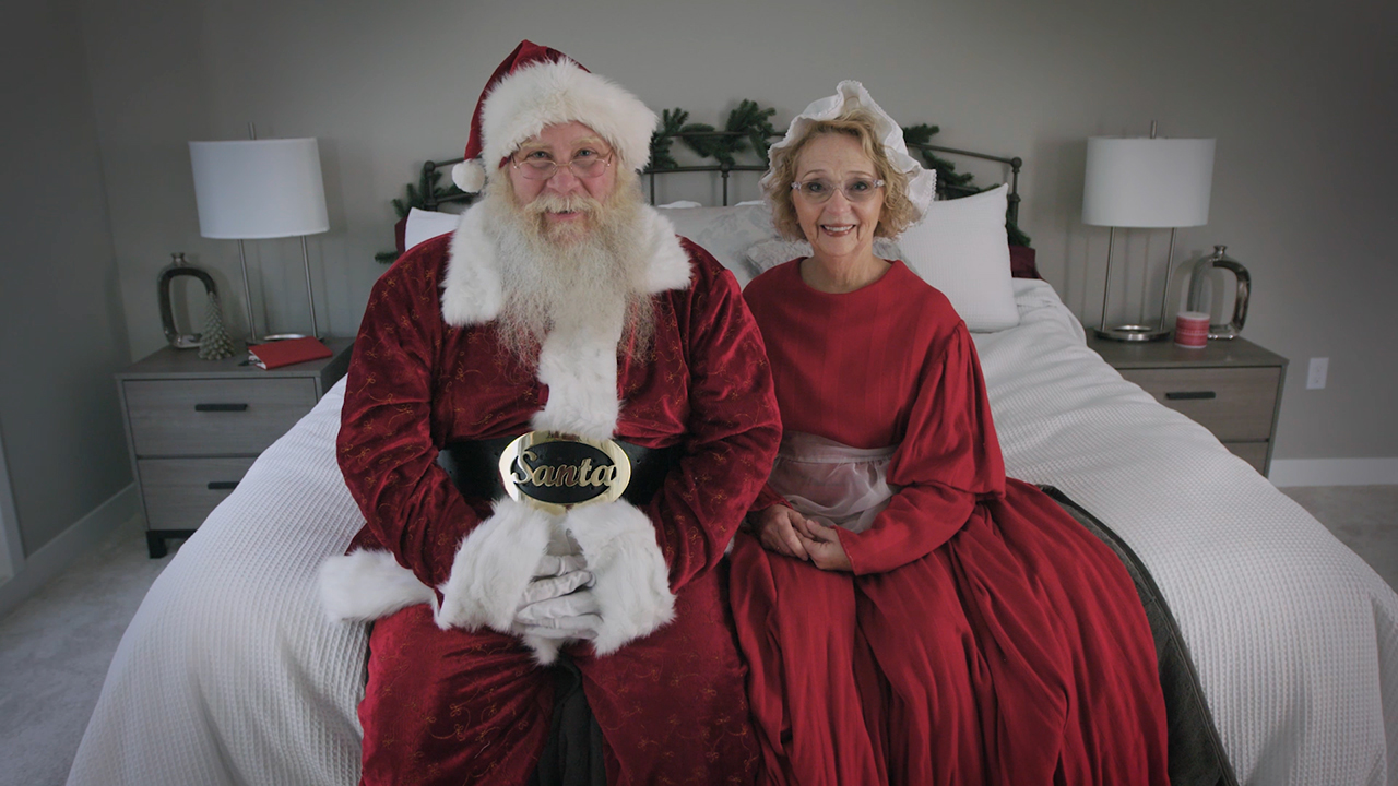 Keep up with the Clauses as they prepare for the big night at sleepnumber.com/santawatch. How does Mrs. Claus deal with Santa's snoring? Or, how has Mrs. Claus' nighttime meditation helped her racing mind? Each day, visitors get a glimpse inside their life at the North Pole, including the couple's sleeping habits, their Sleep Number settings, and what's at the top of their lists this year.