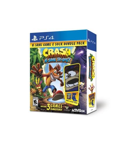 GameStop revealed that its Crash Bandicoot™ N. Sane Trilogy Black Friday Bundle will include the gam ...