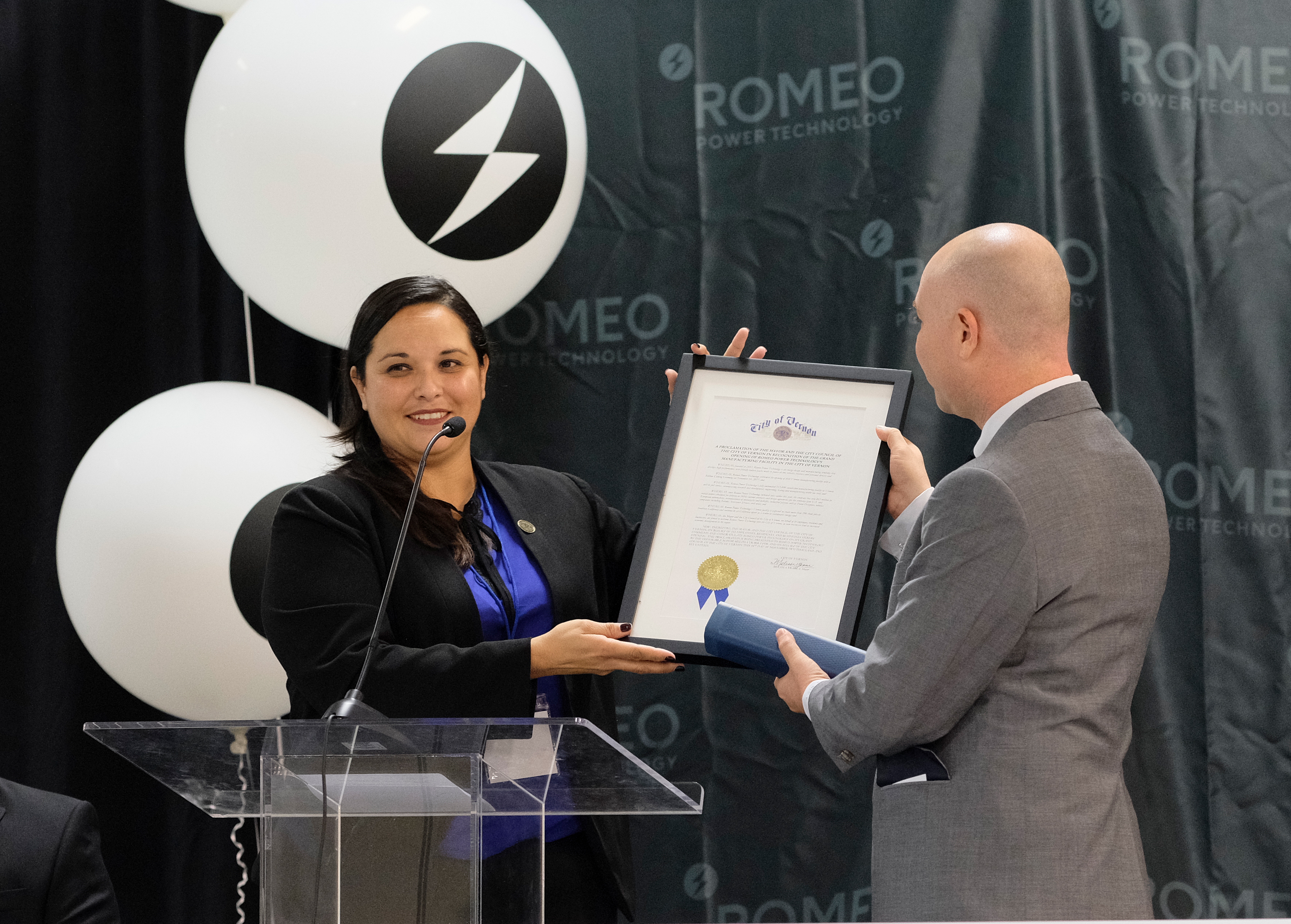 Romeo Power Technology Inaugurates the West Coast\'s First Dedicated ...