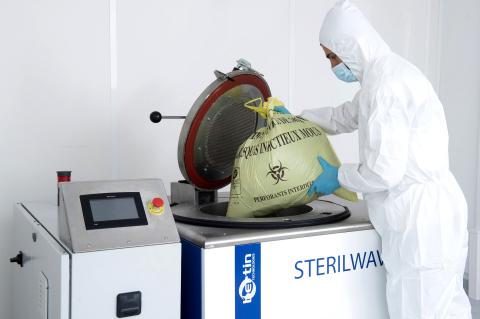 Bertin lancia Sterilwave 100, la soluzione ultracompatta per la gestione dei rifiuti ospedalieri potenzialmente infetti