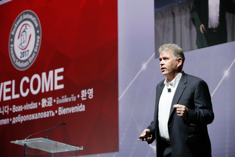 Stephen Pulsifer, market development director, welcomes hundreds of process automation professionals to the annual Process Solutions Users Group (PSUG) hosted by Rockwell Automation on Nov. 13 and 14. (Photo: Business Wire)