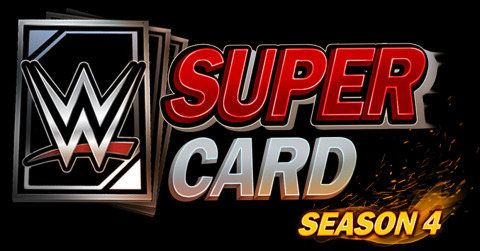 2K today announced that WWE® SuperCard - Season 4, the latest addition to the Company's action-packed collectible card-battling game, is now available as a free downloadable update on the App Store for iOS devices, including iPhone®, iPad® and iPod touch®, as well as the Google Play Store and Amazon Appstore for Android™ devices*. (Graphic: Business Wire)
