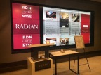 Radian's Twitter wall displays live photos and tweets during the 2017 Investor Day. (Photo: Business Wire)