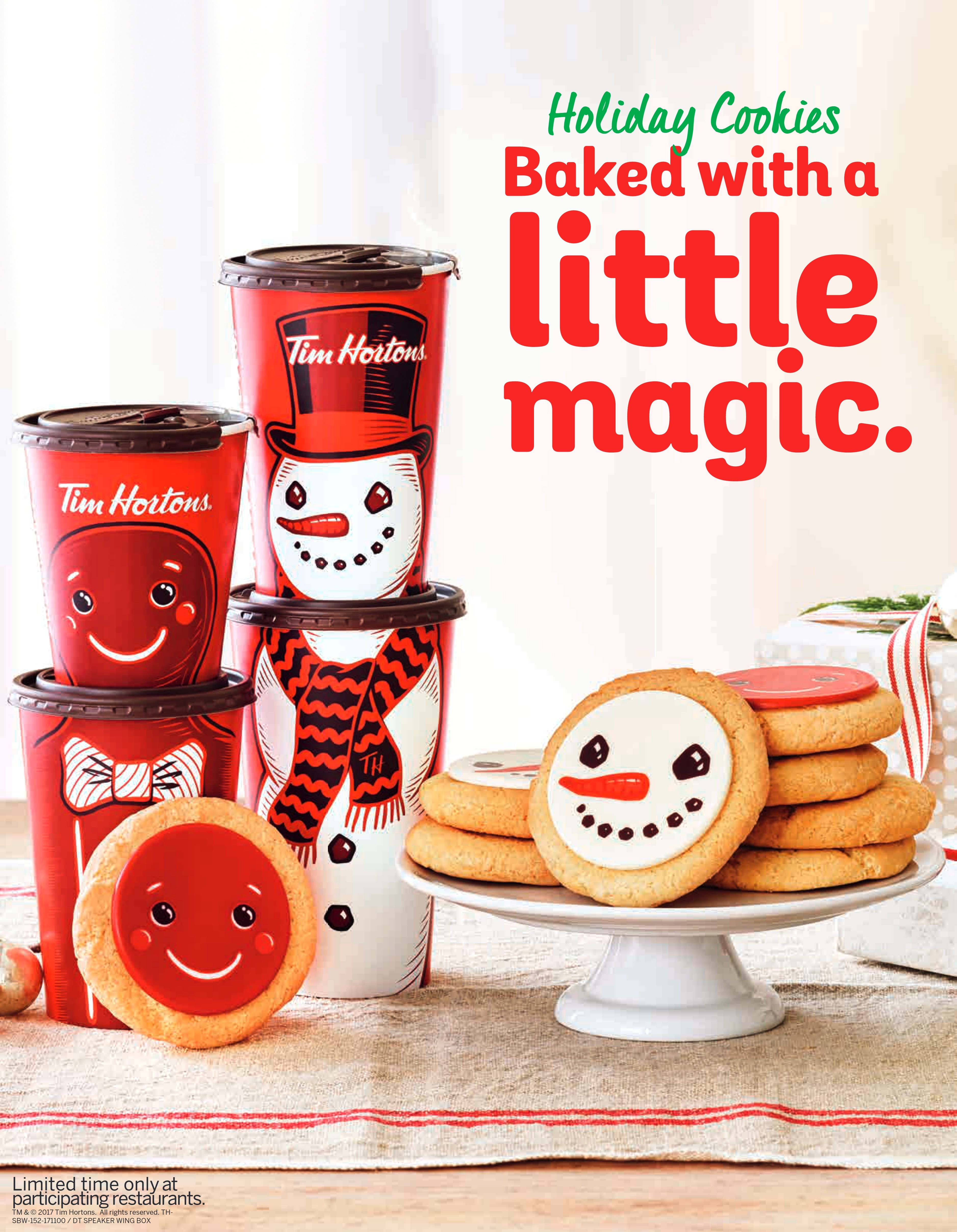 tim hortons u s warms hearts and cups with new holiday menu and