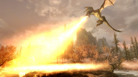 Winner of more than 200 Game of the Year awards, The Elder Scrolls V: Skyrim is an open-world masterpiece where you can be anyone and do anything. (Photo: Business Wire)
