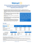 Walmart reports Q3 FY18 earnings (Infographic: Business Wire)