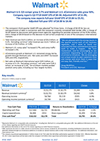 Click on the image to download the full third quarter fiscal year 2018 earnings release