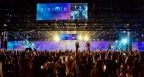 The Jeunesse EXPO8 Elevate 2017 World Tour energizes attendees in São Paulo, Brazil. (Photo: Business Wire)